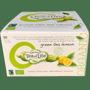 Té verde orgánico limón Tea of Life