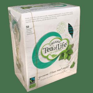 Té verde menta orgánico tea of life